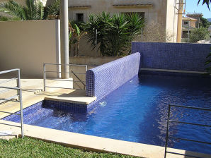 Ferienhaus 138 mit Pool und Internet