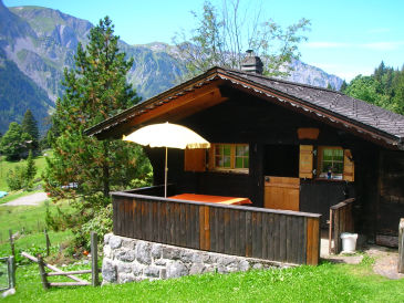 "Berghütte Willkommen im Spycher "" Murmeli"""