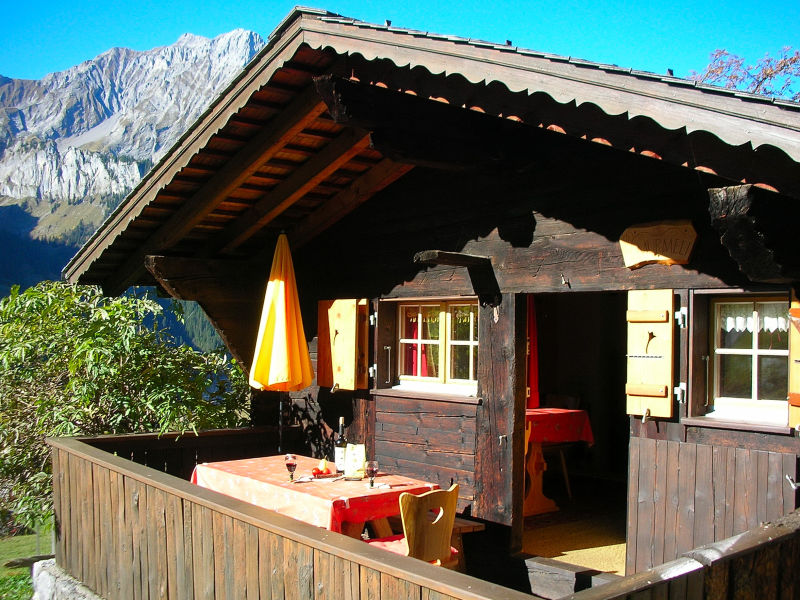 "Alpine hut Welcome in the Spycher ""Murmeli"""