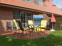 Ferienwohnung Große Ferienwohnung Südterrasse in Sandstrandnähe der Elbe