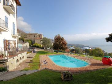 Ferienwohnung Residence Celeste (mit Seeblick/Pool)