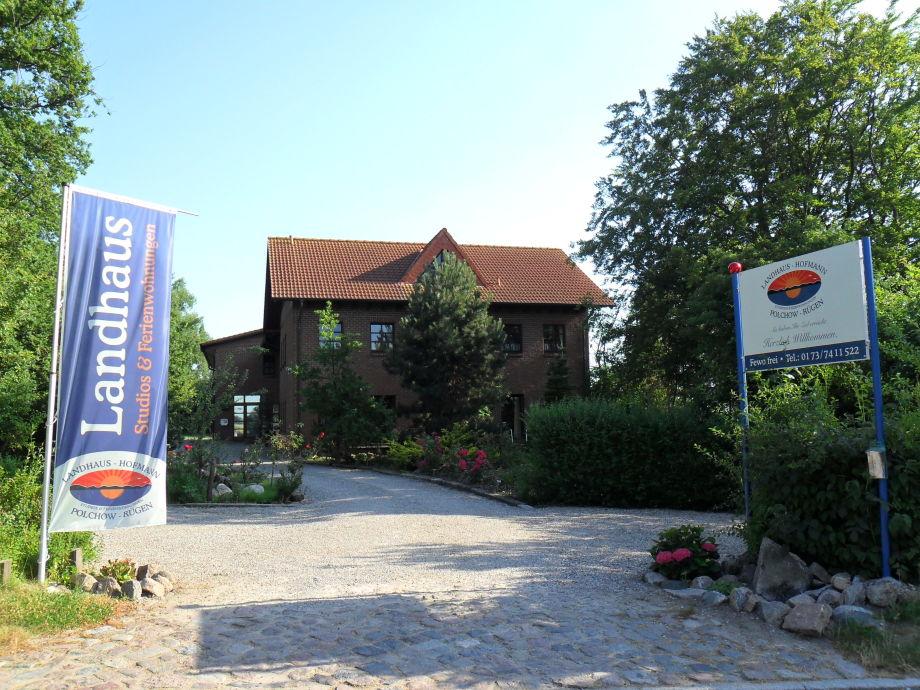 Außenaufnahme Landhaus Hofmann