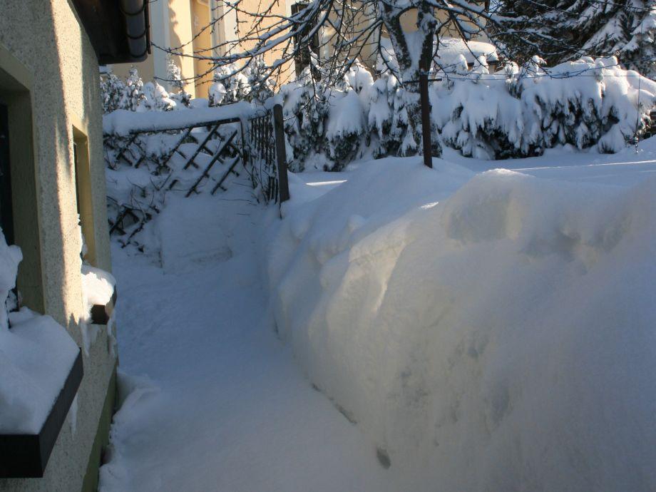 Sitzecke im Winter ;-)