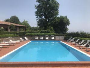Ferienwohnung Polpenazze Daniela mit Pool und Seesicht