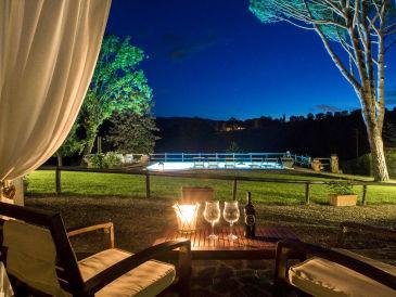 Ferienhaus Casa Silvia mit Pool und Fußballplatz