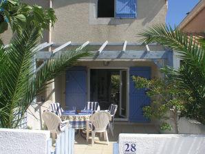 Ferienhaus La petite maison bleu