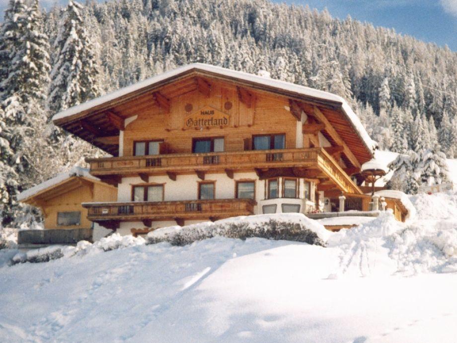 Haus Gatterland im Winter
