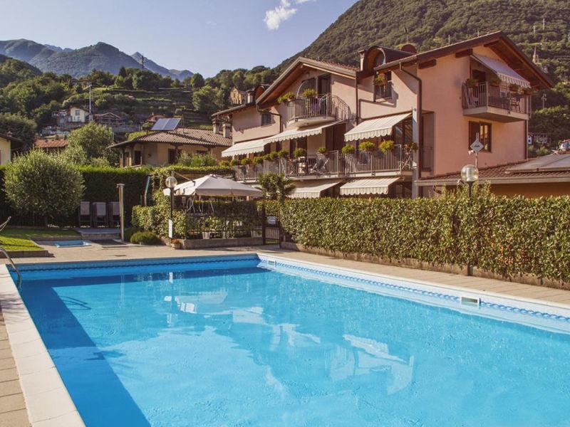 Ferienwohnung Residence Domaso (mit Pool)