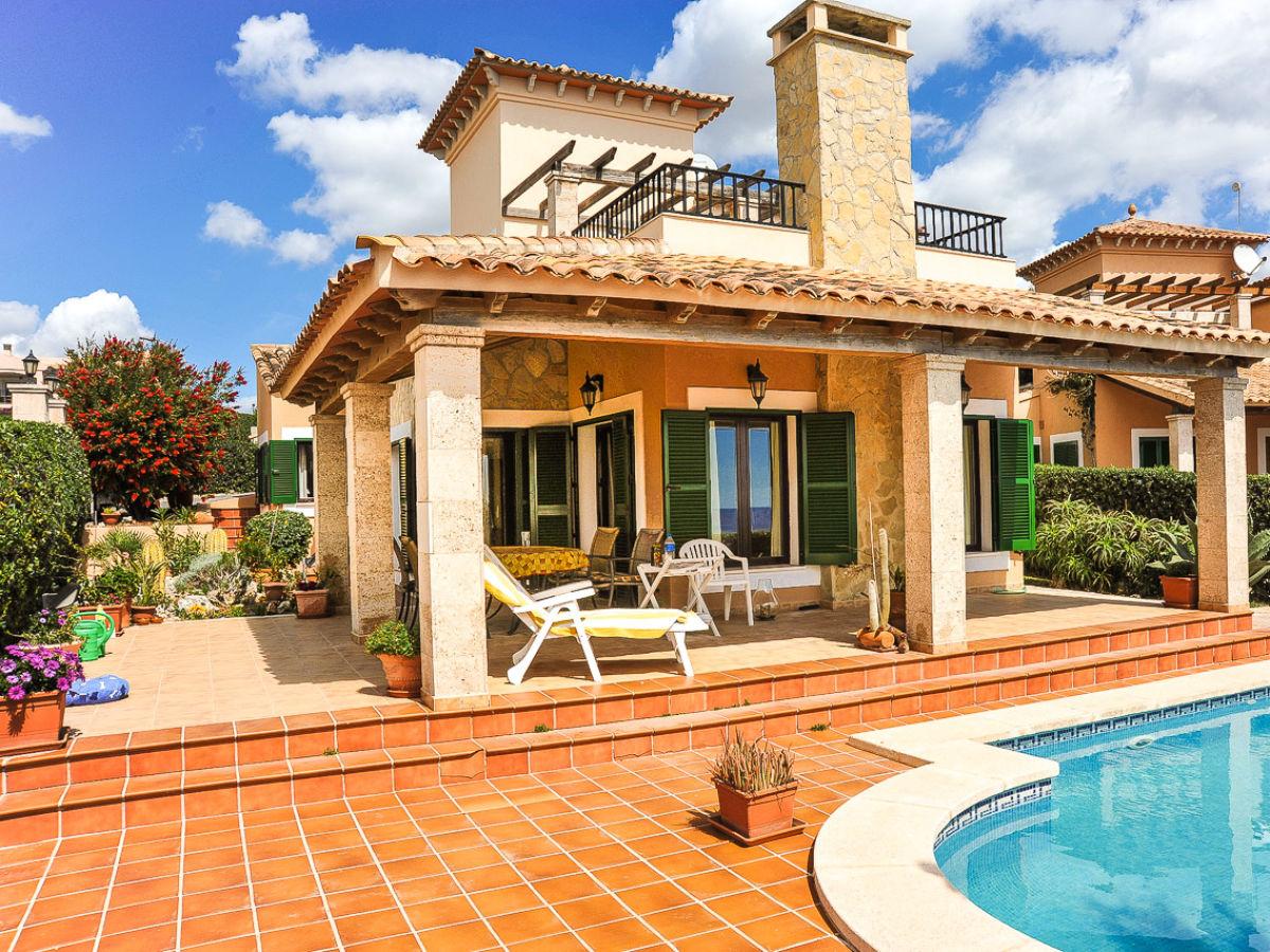 Ferienhaus mit pool traum meerblick id2660 porto cristo - Formentera ferienhaus mit pool ...
