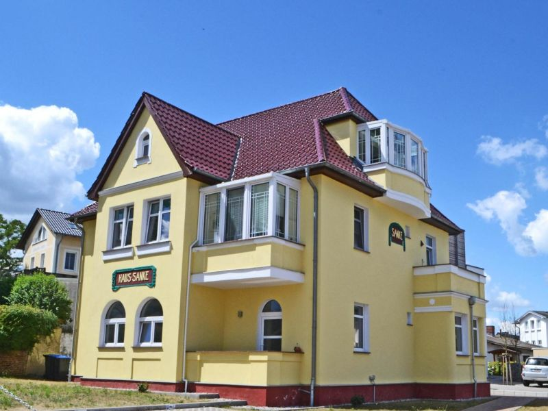 Ferienwohnung Seeblick in der Villa Sanke