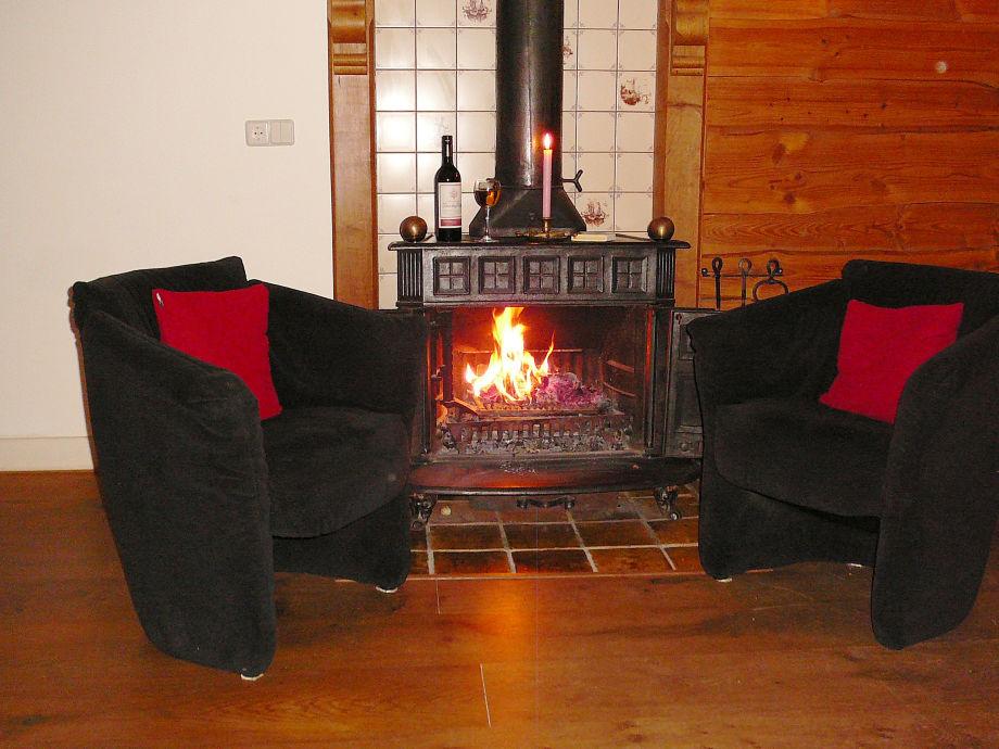 Nice livingroom with open fire