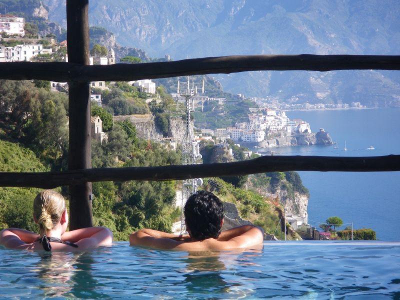 Villa Alba di Amalfi - with Infinity Pool and sea