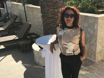 Your host  Sandra Sudinja