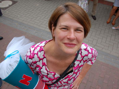 Your host Nadja Segers