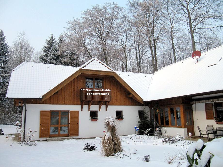 Landhaus Huhle in winter