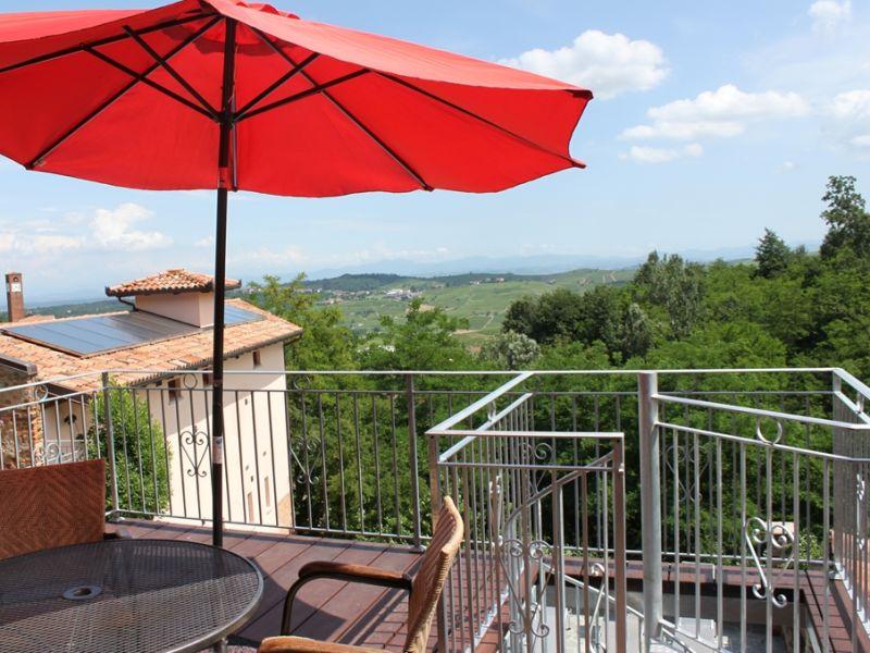 Ferienwohnung Dolcetto in der Villa Pesce