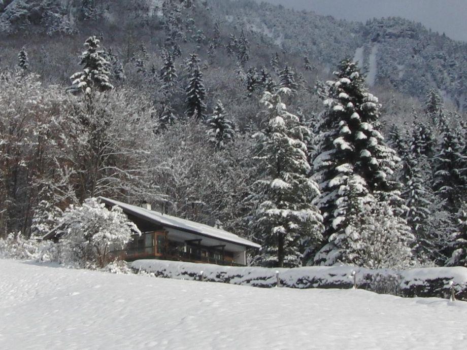 Haus Reiteralm im Winter