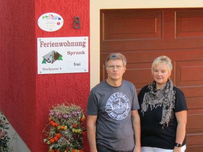 Ihr Gastgeber Silvia und Klaus Sprunk