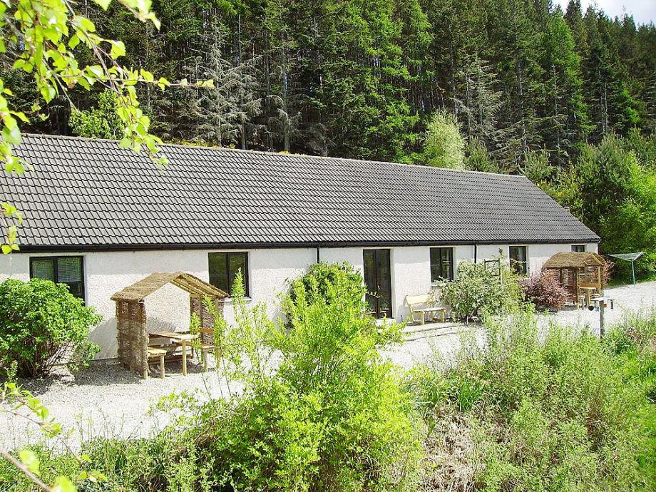 Riverside cottages bei Lochness