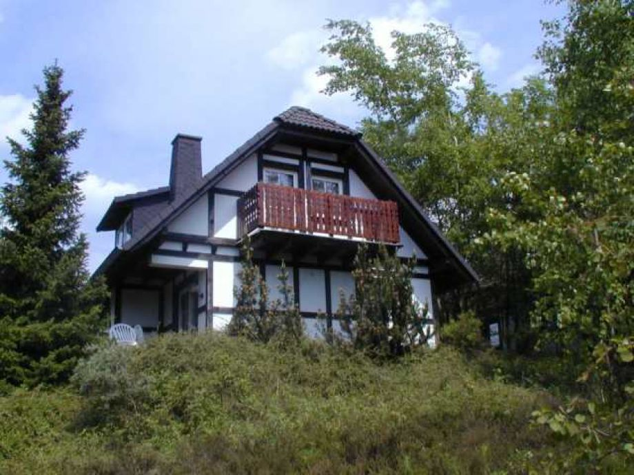 Außenaufnahme Frankenau Ferienhaus 167