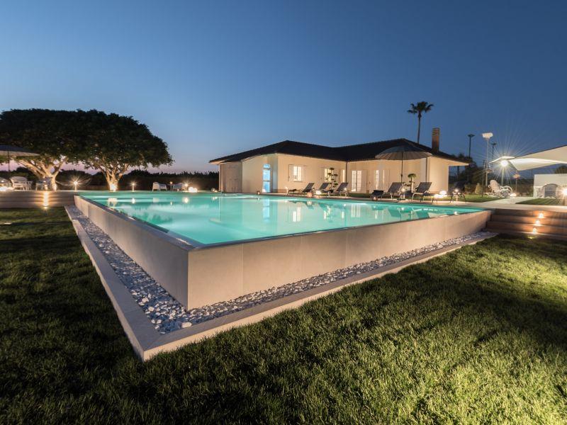 Luxuriöse Villa auf dem Land