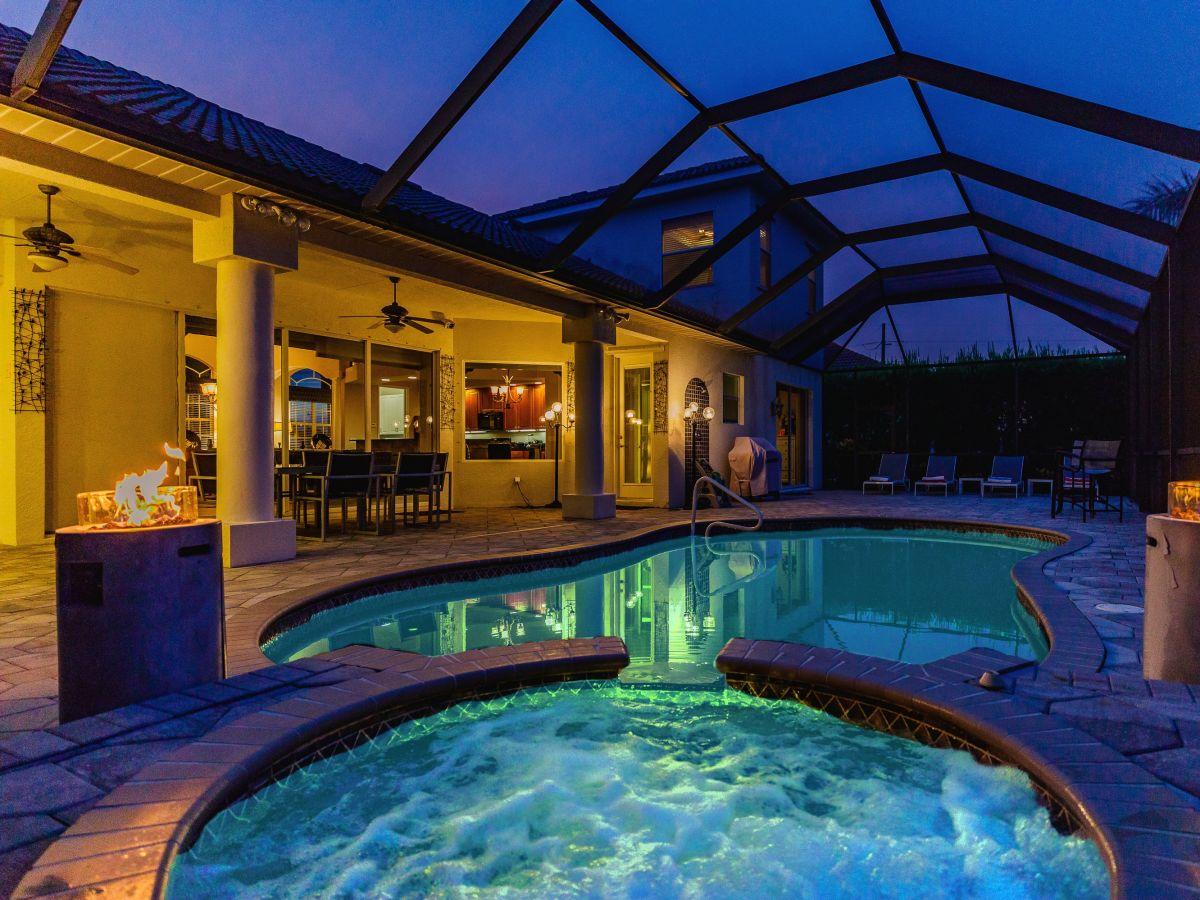 Villa Wellness Oasis Bahia, Cape Coral, Herr Andreas Harz