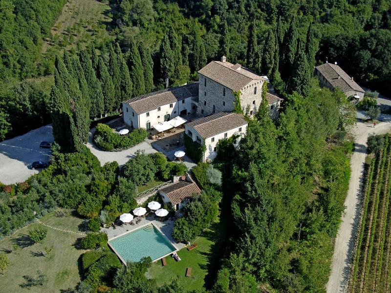 Schloss Burg Castelnuovo Berardenga