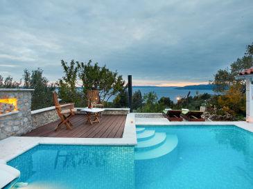 Villa Makarska mit Pool und Meerblick 1