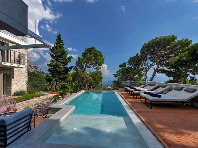 Villa Linda oberhalb Makarska