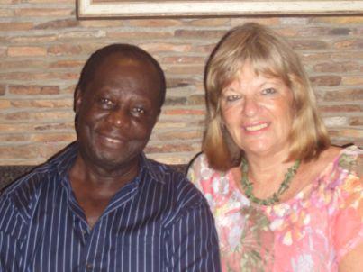 Ihr Gastgeber Birgit und John Siriboe