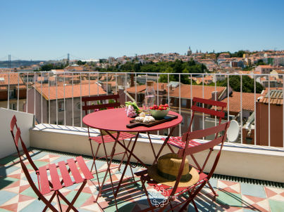 Principe Real Rooftop 59 by Lisbonne Collection