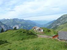 Berghütte Alpe Ober Überlut
