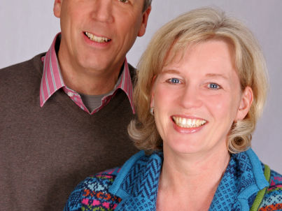 Ihr Gastgeber Ute und Bernd Schmidt