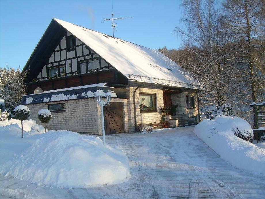 Haus Mühlberger im Winter