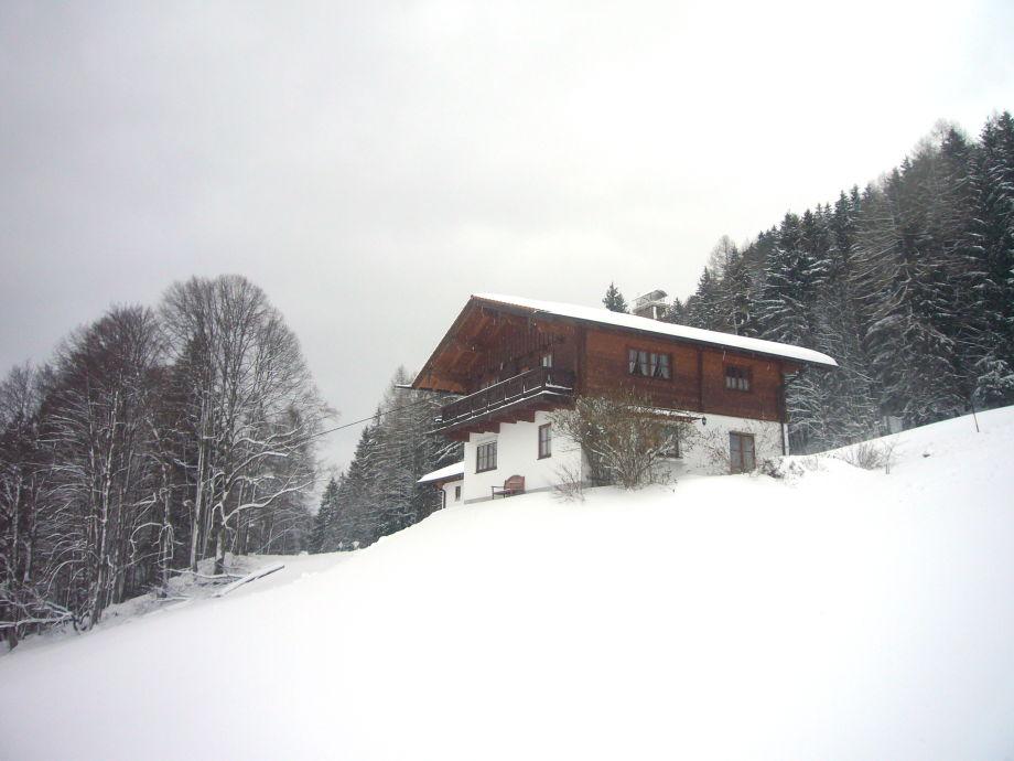 Ferienwohnung Koeglalm im Winter
