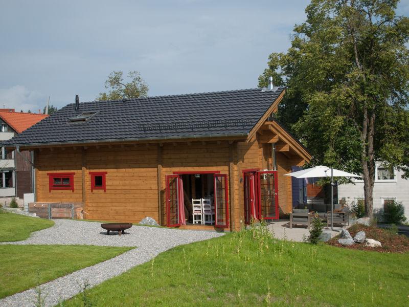 Ferienhaus Blockhaus an der Skiwiese