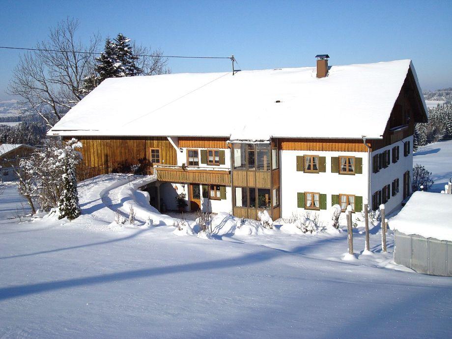Die Ferienwohnung im Winter