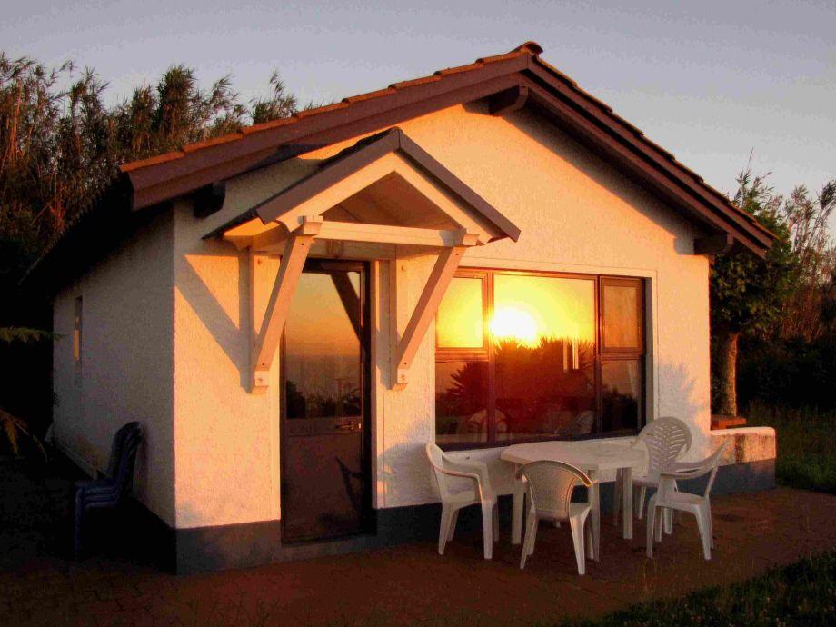 Casa Betty bei Sonnenuntergang