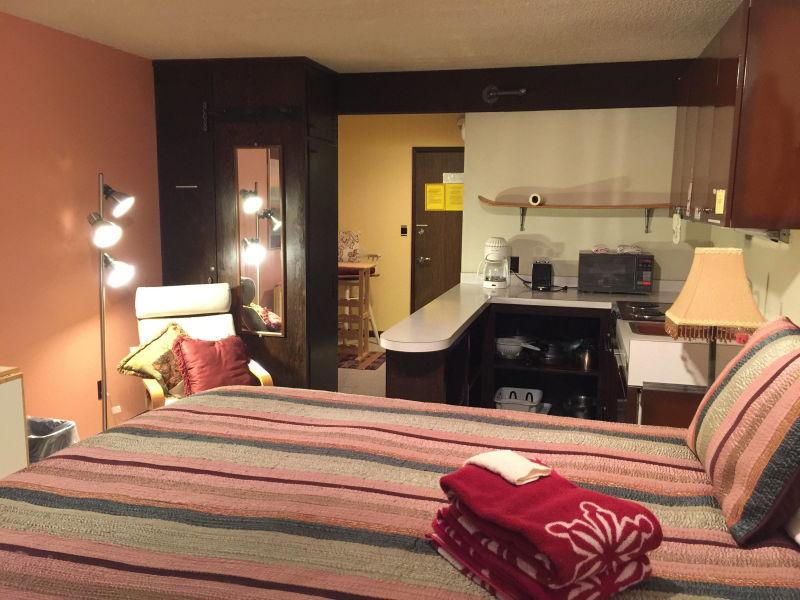 Ferienwohnung Mt. Baker Lodging Condo # 46 - mit Kochnische, King-Bett, Schlafmöglichkeiten für 2!