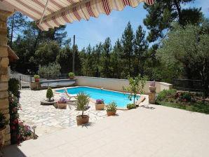 Ferienhaus 0346 Les Myrtilles, 6P. Bagnols-sur-Cèze, Gard