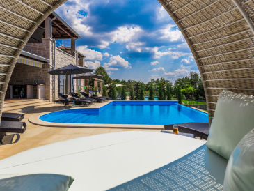 Villa Laura An with beautiful sea view and pool