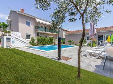 Villa Pjacal mit Pool in Pula