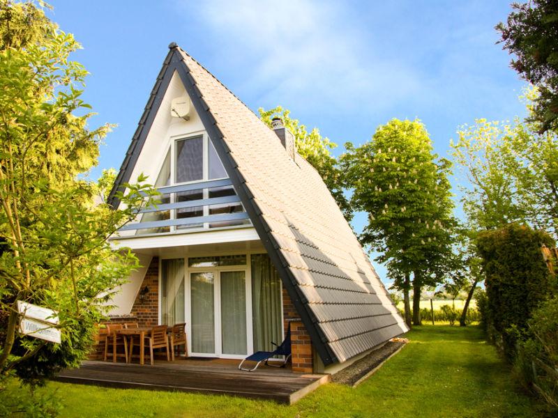 Ferienhaus Finnhütte Achtern