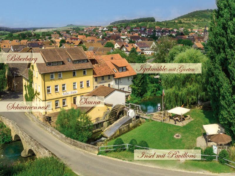 Ferienwohnung Rödermühle - Biberburg