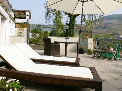 Ambiente in Zell an der Mosel