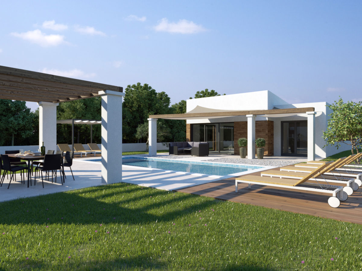 Villa Maell mit privaten Pool, Šišan, Firma WE BOOKING d.o.o. ...