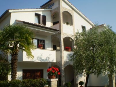 in der Villa Matic