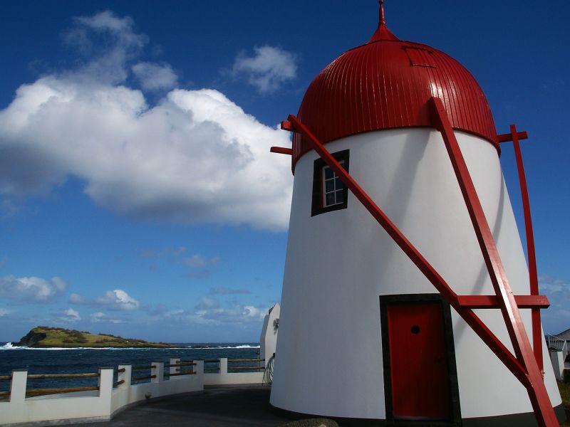 Ferienhaus Windmühle Mò da Praia