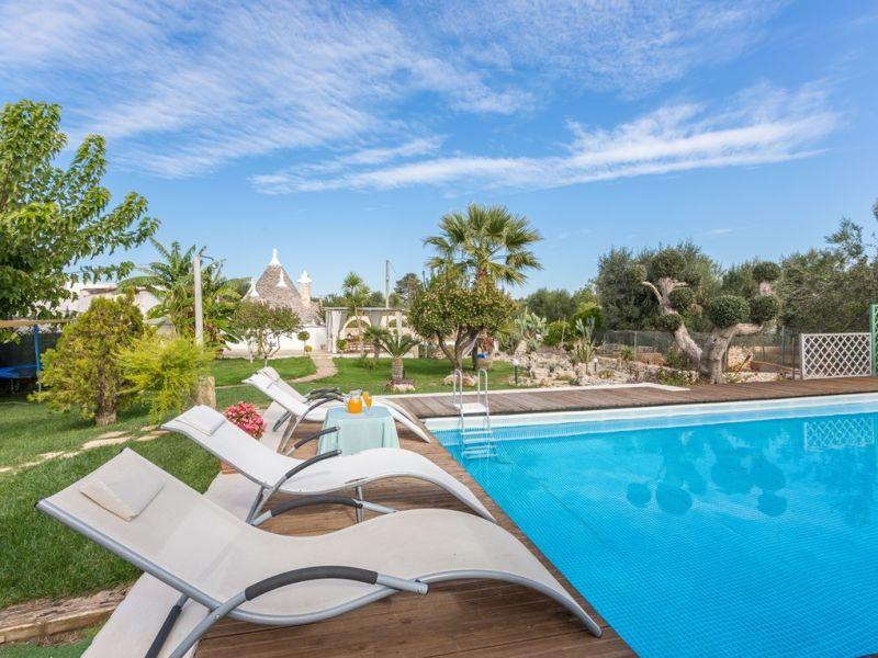 Ferienhaus Trullo mit privatem  Pool