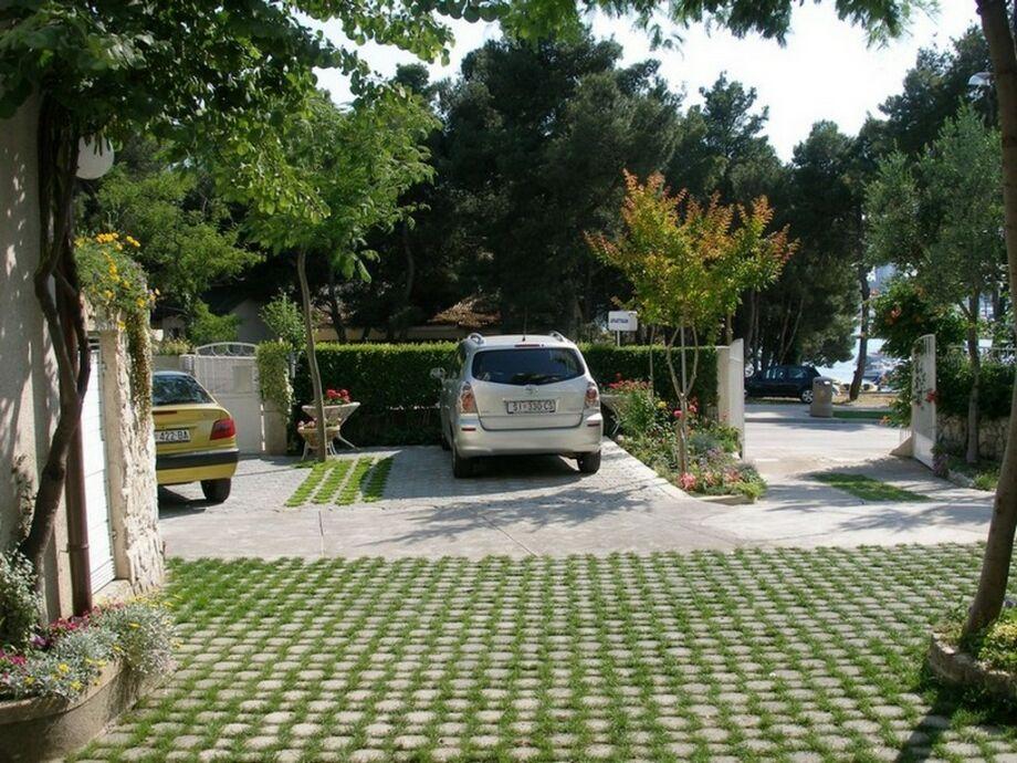Parkplatz im Hof